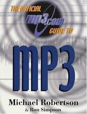 The Official MP3.com Guide to MP3, Michael Robertson and Ron Simpson, Good Book