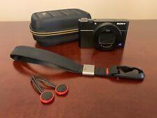 Sony CyberShot DSC-RX100 VII - 20.1MP P&S Digital Camera (w/accesories)