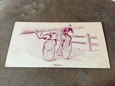 1900's Sporting Life Trade Card Bicyclist Base Ball Cycling
