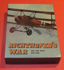 VTG Richthofen's War Board Game NM Air War 1916-1918 WW1 Avalon Hill Complete