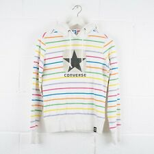 Vintage CONVERSE Striped Hoodie Size Womens Small /R42022