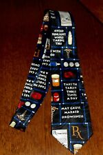 Doctor Nurse Health Hospital New Black 100% Polyester New Neck Tie Free Shipping