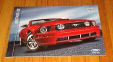 Original 2009 Ford Mustang Sales Brochure V6 GT Shelby GT500 GT500KR