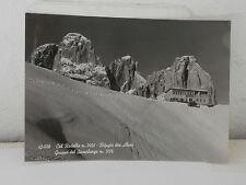 TRENTO - COL RODELLA - RIFUGIO DES ALPES - SASSOLUNGO FG VG 1966 cartolina