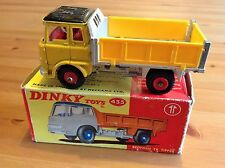 DINKY 435 BEDFORD TK TIPPER ORIGINAL AND BOXED NOT ATLAS