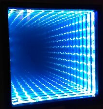 Infinity Mirror CUSTOM made all mirrors come with color changing leds and remote