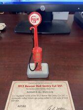 Danbury Mint 1912 Bowser Red Sentry Cut 241 1/24 Gas Pump Serial #A6588 Loose