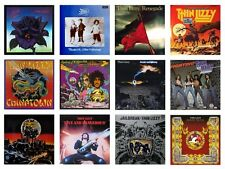 MINIATURE 1/12 Non Playable VINYL RECORD ALBUMS - THIN LIZZY - VARIOUS TITLES