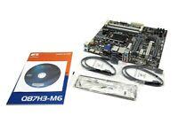 ECS Q87H3-M6 V1.0 INTEL Q87 CHIPSET LGA1150 SOCKET DDR3 MICRO ATX MOTHERBOARD US