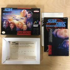Star Trek The Next Generation Original Box Only! Manuals Included (SNES 1993)