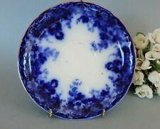 English Flow Blue  Saucer A Meakin  Richmond pattern