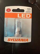 Sylvania Red LED 194R 168R 2825R