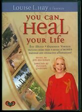 YOU Can Heal Your Life the movie 2 DVD expanded version Louise L Hay 4 hr bonus