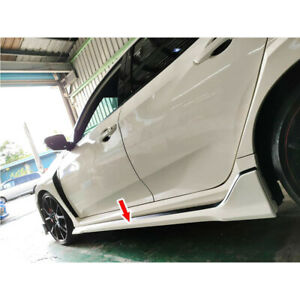 Unpainted Fit For Honda Civic 10th FK8 5DR Side Skirts Body Kits 1SET 2020