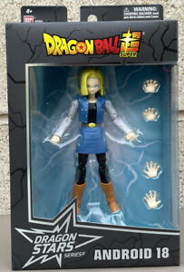 Bandai Dragon Stars Series: Dragon Ball Super - Android 18 6 Inch Action Figure