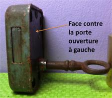 Serrure boite lettres ouverture à gauche Mougeotte Foulon Delachanal Poste PTT