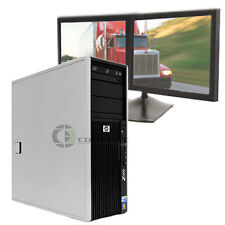 HP Z400 Desktop PC for Logistics Dispatch Business 2.53Ghz CPU 6GB 250GB HDD