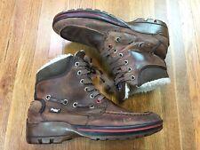 Pajar Canada Mens Leather Winter Boots Sz 10 Waterproof -20 Below Outdoor Snow