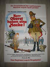Herr Oberst haben eine Macke Kinoplakat Vive la quille Jacques