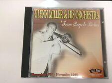Glenn Miller - From Rags to Riches (Dec. 1938 - Nov. 1939/Live Recording 2003 CD