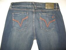 Volcom Jeans for Women Atomic Bootcut Dark Distressed Sz  13 Nice !!
