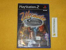 ULTIMATE PRO PINBALL  PS2 SONY PLAYSTATION 2 PAL VERS. ITALIANA NUOVO SIGILLATO