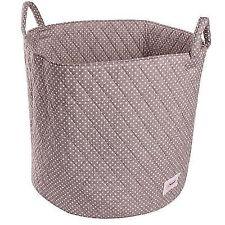 Minene Storage Basket Grey With White Spot Large -