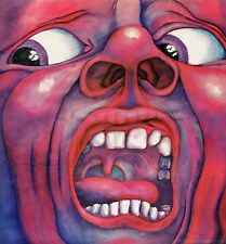 """KING CRIMSON """"IN THE COURT OF THE CRIMSON KING"""" ORIG UK 1969 (A//3 & B//3)"""