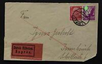 Dt. Reich Briefstück / Briefvorderseite Eilbote / Express Wien n. Insbruck 1939