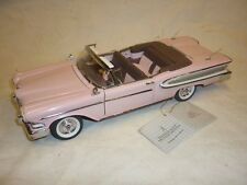 A Franklin Mint 1958 Ford Edsel convertible,   no boxed no paperwork