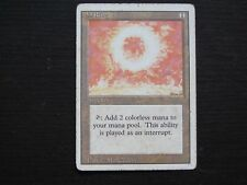 SOL RING : carte MTG MAGIC The Gathering (anglais REVISED envoi suivi)