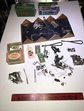 Vintage Singer Sewing Machine Parts Puzzle Box And More