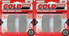 GOLD-FREN FRONT BRAKE PADS (2x Sets) for: HONDA CBR600-F (99-07) CBR600F (AD134)