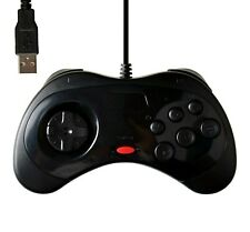Manette USB pour PC style vintage Sega SATURN USB game controller for PC