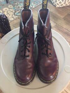 Dr. Martens Women's Purple Boot US SIZE 7
