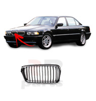 Per BMW 7 Serie 1999-2001 E38 Nuovo Paraurti Anteriore Centrale Dx Griglia Nero/