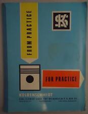 Kolbenschmidt Karl Schmidt Piston Troubles Shop Service Dealer Repair Manual