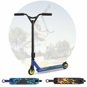 Kids Adult Pro Stunt Scooter 2 Wheels Kick Push for 360° Freestyle Trick Outdoor