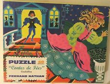 Puzzle Cendrillon, Fernand Nathan, 1969 - Cavahel Vintage