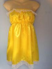 Costumi e travestimenti giallo raso per carnevale e teatro