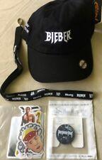 "J. Bieber / 2017 ""Purpose Tour"" package / Hat / Stickers / Button / Strap / Mint"