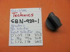 TECHNICS SBN-929-1 SPEAKERS REC INPUT SELECTOR KNOB SU-V4K INTEGRATED AMPLIFIER