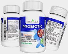 Probiotic Supplement for Women, Men & Kids by Naturelle Health