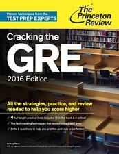 Graduate School Test Preparation: Cracking the GRE 2016 by Princeton Review...