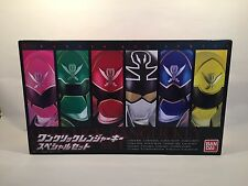 Power Rangers Super Megaforc one click Ranger Key Set Gokaiger Limited rare