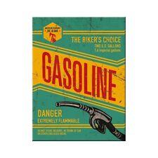 Gasoline oil & gas armario de refrigeración magnética Fridge Refrigerator imán 6 x 8 cm