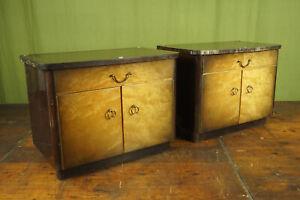 50er Vintage Mini Sideboard Bedside Cabinet Console Table Rockabilly 1/2