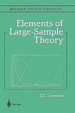 Elements of Large-Sample Theory by E. L. Lehmann (2010, Paperback)