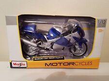 MAISTO SUZUKI GSX1300R HAYABUSA 1/12 DIE-CAST METAL MOTOR CYCLES