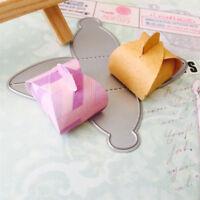 Gift box Metal Cutting Dies Stencil for DIY Scrapbooking Album Cards MakingFLA